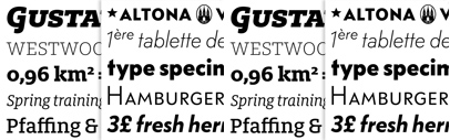 New releases from @FontFont: FF Milo Slab' FF Bauer Grotesk' and an extended FF Utility.