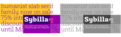 Sybilla' a humanist slab serif supporting Cyrillic' by @kateliew. Sybilla Family is 75% off until May 17.