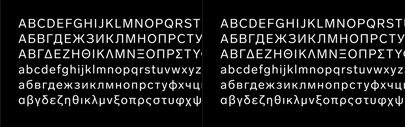 Lab Grotesque by @lettersfromswe now supports Cyrillic and Greek.
